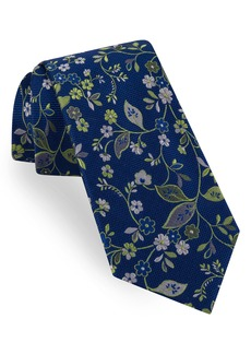 Ted Baker London Small Flower Silk Tie