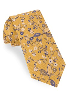 Ted Baker London Small Flower Silk Tie
