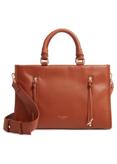 Ted Baker London Small Hanee Leather Satchel