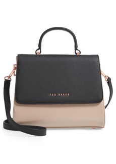 Ted Baker London Small Hermine Faux Leather Satchel