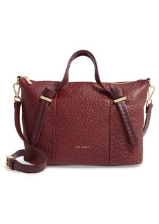 Ted Baker London Small Olmia Knotted Handle Leather Tote