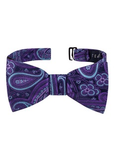 Ted Baker London Small Paisley Silk Bow Tie