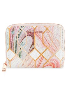 Ted Baker London Small Sea of Clouds Coin Purse