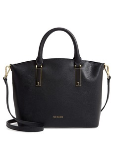 Ted Baker London Small Shana Curved Leather Shopper & Pouch