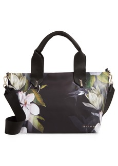 Ted Baker London Small Terresa Opal Floral Print Nylon Tote
