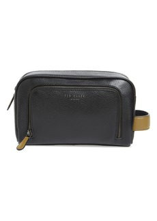 Ted Baker London Soaps Leather Dopp Kit
