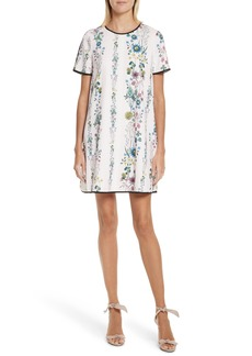 Ted Baker London Soffiah Floral Shift Dress