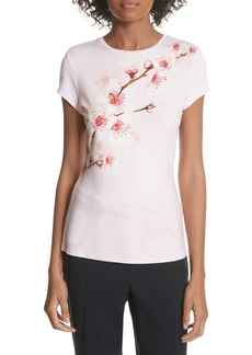 Ted Baker London Soft Blossom Fitted Tee