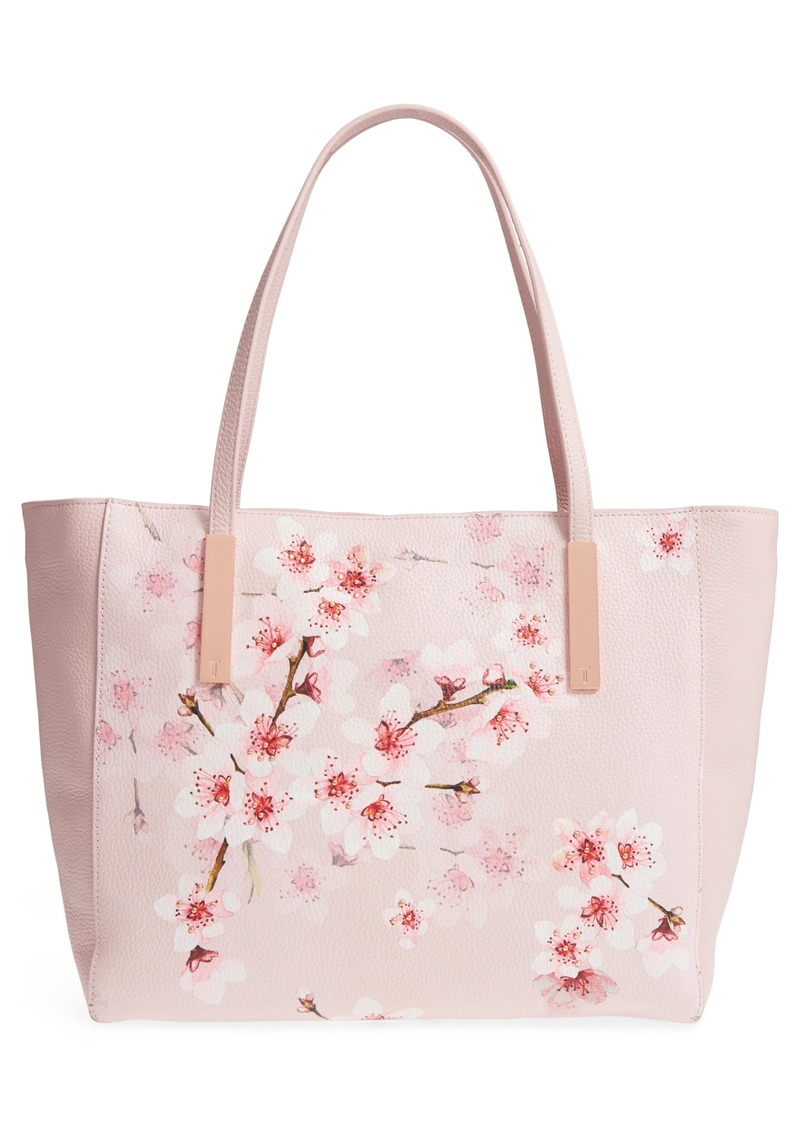 b840bf8f5cc SALE! Ted Baker Ted Baker London Soft Blossom Leather Shopper