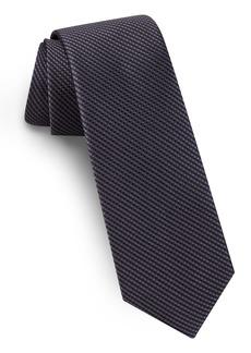 Ted Baker London Solid Skinny Silk Tie