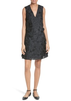Ted Baker London Soniah 3D Lace A-Line Dress