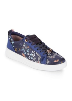 Ted Baker London Sorcey Floral Textile Sneakers