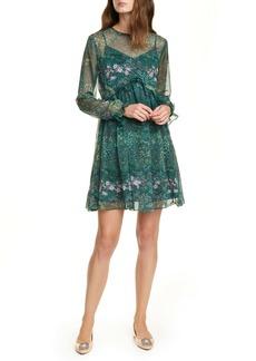 Ted Baker London Sorella Long Sleeve Dress