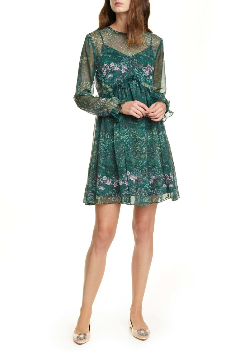 Ted Baker London Sorella Long Sleeve Dress