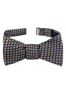 Ted Baker London Split Oval Geo Silk Bow Tie