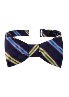 Ted Baker London Split Stripe Silk Bow Tie