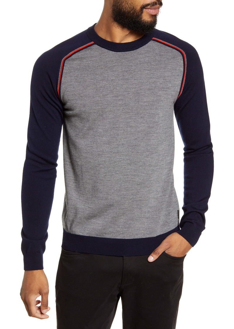 Ted Baker London Squez Slim Fit Raglan Sweater