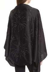Ted Baker London Stardust Silk Cape Scarf