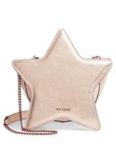 Ted Baker London Starry Metallic Leather Shoulder Bag
