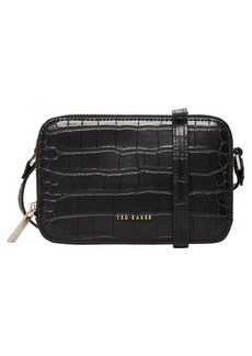 Ted Baker London Stina Embossed Faux Leather Crossbody Bag