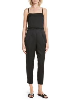 Ted Baker London Strappy Ankle Grazer Jumpsuit