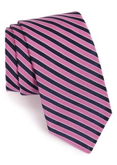 Ted Baker London Stripe Silk & Cotton Tie