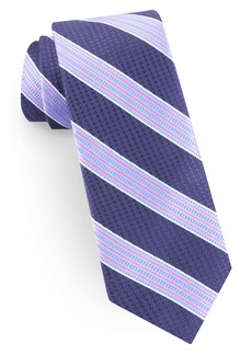 Ted Baker London Stripe Silk Blend Tie