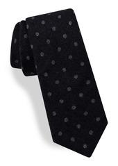 Ted Baker London Stripe Woven Skinny Cotton Tie