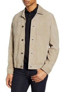 Ted Baker London Surcle Suede Jacket