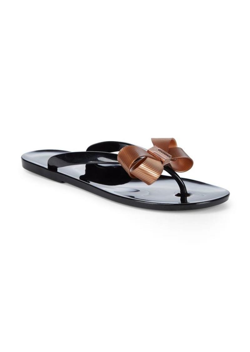 796cec5bdda2 Ted Baker Ted Baker London Suszie Bow Thong Sandals