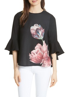 Ted Baker London Suuzan Tranquility Waterfall Top