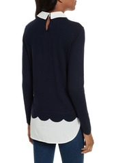 9f7425b06dba Ted Baker Ted Baker London Suzaine Embellished Layered Look Sweater ...