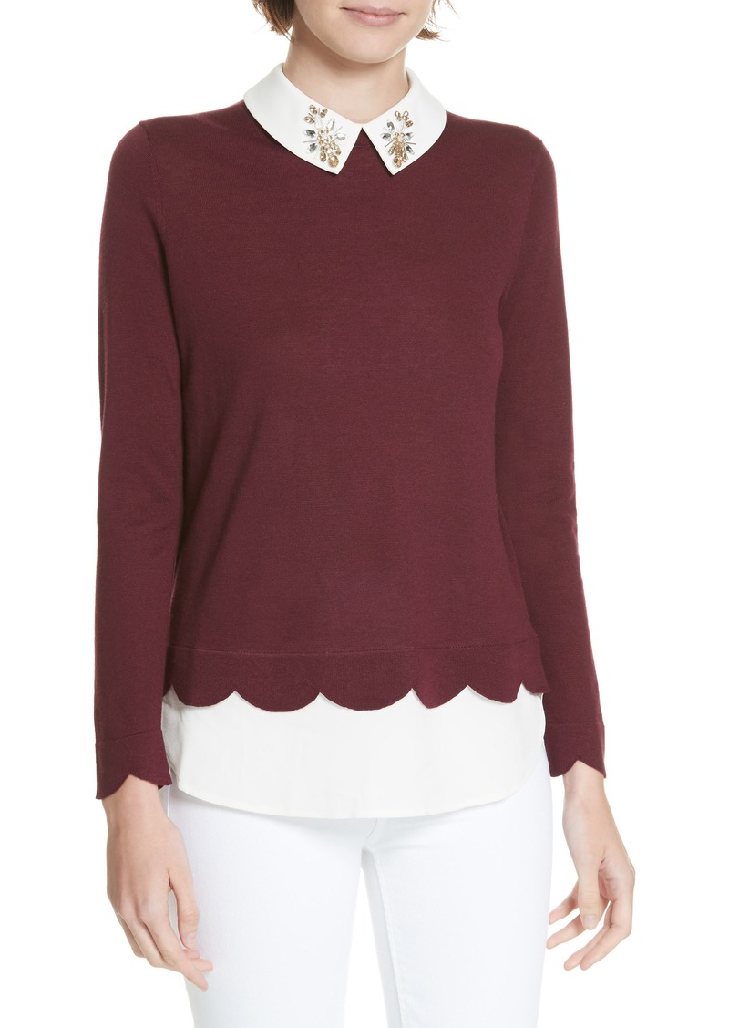 6cd85a0afd3bd Ted Baker Ted Baker London Suzaine Layered Sweater