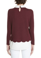 569f1a8262d44 Ted Baker London Suzaine Layered Sweater Ted Baker London Suzaine Layered  Sweater