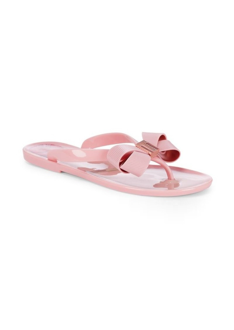44a311c29c1c Ted Baker Ted Baker London Suzie Bow Jelly Thongs