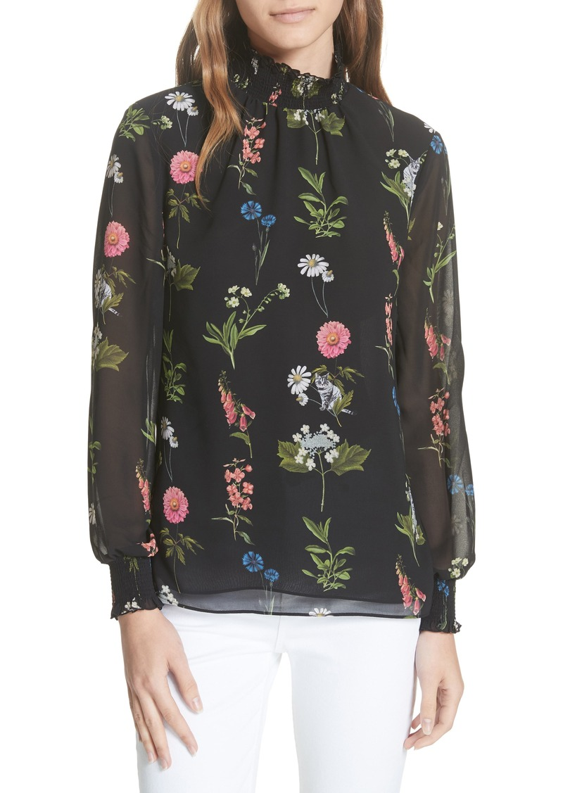 0116ae6ed5b5a6 Ted Baker Ted Baker London Taalia Florence Floral Blouse