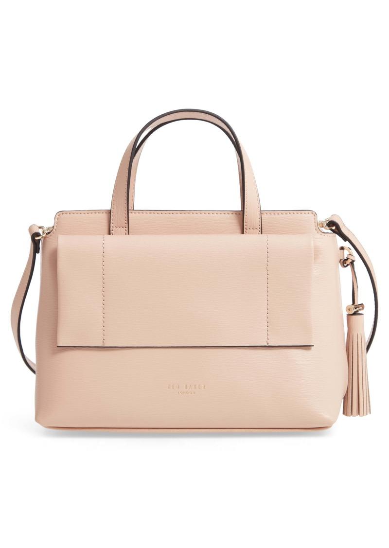 Ted Baker London Tassel Leather Top Handle Bag