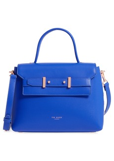Ted Baker London Taymar - Studded Edge Lady Bag Leather Top Handle Satchel