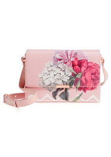 Ted Baker London Teda Palace Gardens Faux Leather Crossbody Bag