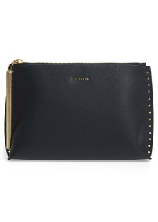 Ted Baker London Tesssa Chain Tassel Leather Evening Bag
