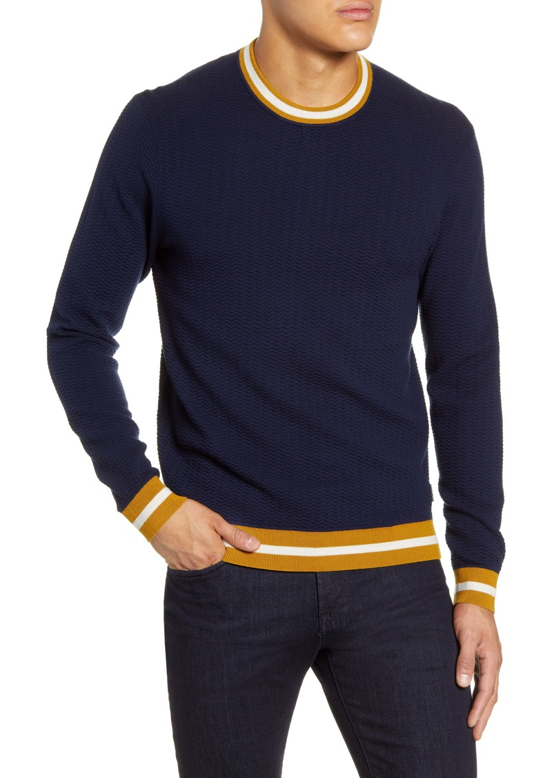 Ted Baker London Textured Slim Fit Sweater