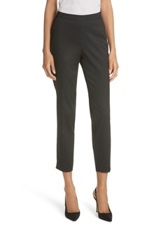 Ted Baker London Textured Tailored Crop Pants