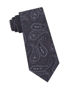 Ted Baker London Textured Tonal Paisley Silk Tie