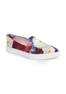 Ted Baker London 'Thfia' Floral Pointy Toe Slip-On Sneaker (Women)