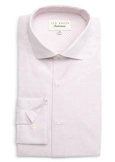 Ted Baker London Tigrfi Slim Fit Geometric Dress Shirt