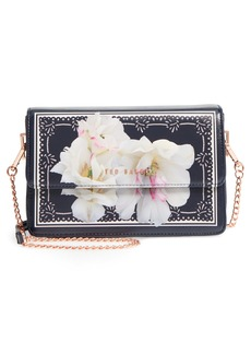 Ted Baker London Tilleyy Gardenia Faux Leather Crossbody Bag