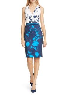Ted Baker London Tilliai Bluebell Body-Con Dress