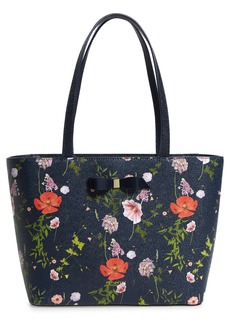 Ted Baker London Titania Hedgerow Leather Shopper