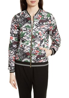 Ted Baker London Toledy Floral Bomber Jacket