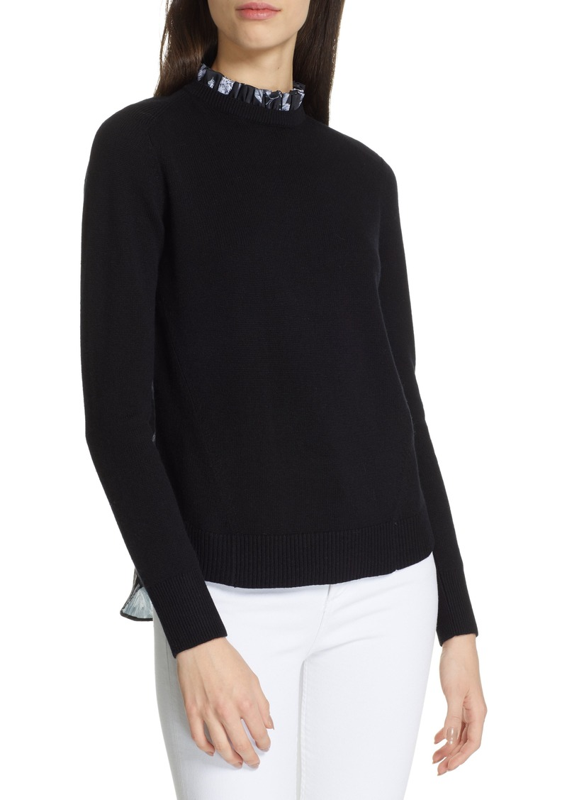 905820124de8 Ted Baker Ted Baker London Toliena Narrnia Mix Media Sweater